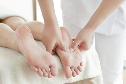 массаж ног по методу Дитера Бауманна